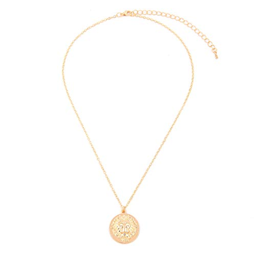 UINGKID Kette Damen Halskette Schmuck Anhänger Ausverkauf Arbeiten Sie einfacher europäische und amerikanische Halskette Wilder Damen Modeschmuck