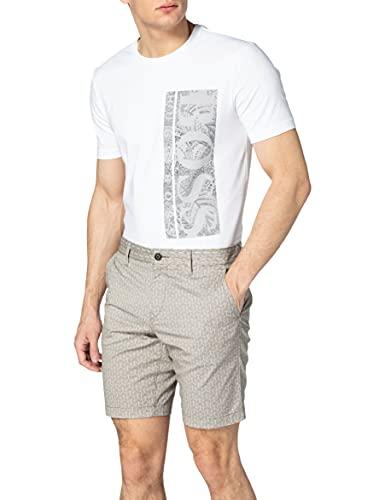 BOSS Schino-Slim-Shorts S 10233369 Pantalones Cortos, Color Beige Claro 272, 32 para Hombre