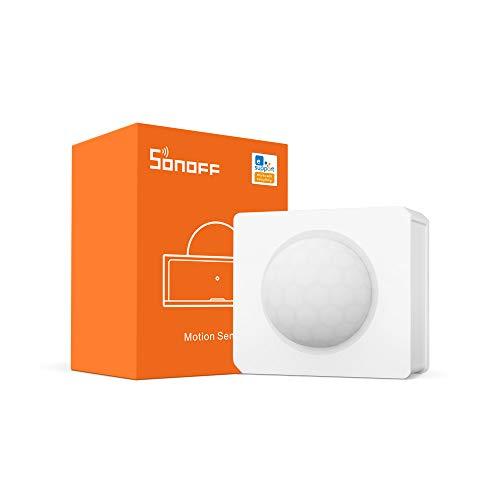 ZigBee Bewegungssensor SONOFF SNZB-03, drahtloser Bewegungsmelder. Sie erhalten Alarme oder er löst das Einschalten von Leuchten aus, SONOFF ZBBridge erforderlich, Akkus sind im Lieferumfang