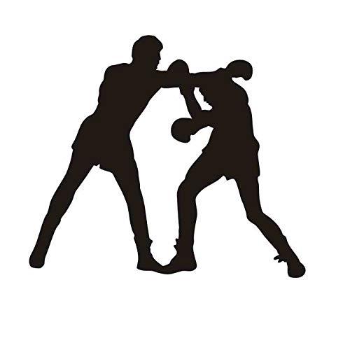 Bokshandschoen sticker kickbokser spelen auto sticker gratis combat poster vinyl striker muur sticker wanddecoratie boksen sticker 87x99cm