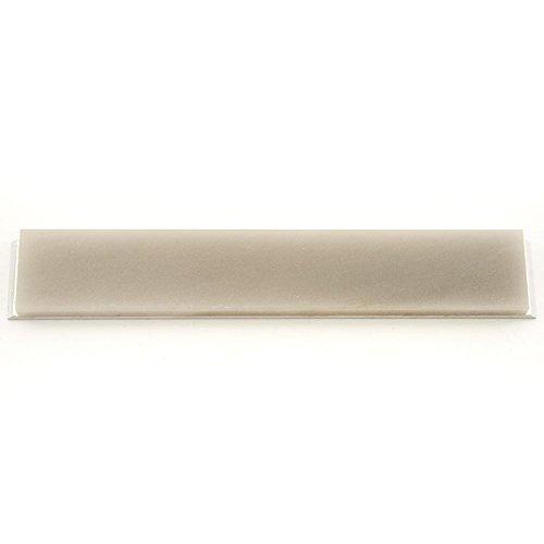 Arkansas Schleifstein (15,2 x 2,5 x 0,6 cm, amerikanischer natürlicher Schleifstein mit Aluminiumhalterung) für Edge Pro, TAP-16AX, Arkansas, durchsichtig