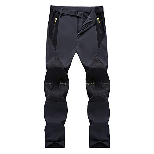 SUKUTU Pantaloni da Escursionismo da Uomo Primavera Estate Pantaloni da Passeggio Leggeri Traspiranti Pantaloni Sportivi Comodi da Arrampicata Trekking Pantaloni Casual