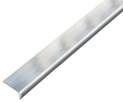 GAH-Alberts 488642 Winkelprofil-selbstklebend, Aluminium, chromdesign, 1000 x 30 x 15 mm