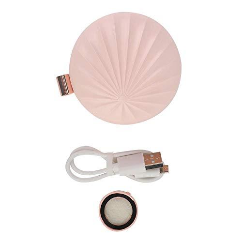 Ätherisches Öl Diffusor Tragbare Aromatherapie Ätherisches Öl Parfüm Diffusor Aromatherapie Car Home(Rosa)