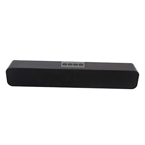 MERIGLARE Altavoz Inalámbrico Bluetooth para Computadora de Forma Delgada con Barra de Sonido - Negro