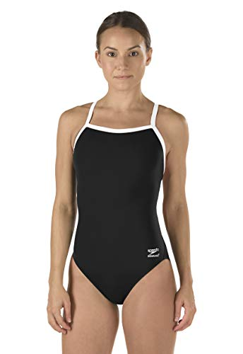 Speedo Female One Piece Swimsuit - Solid Flyback Training Suit