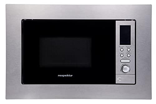 respekta Four à micro-ondes encastrable type/modèle : MW 800, acier inoxydable.
