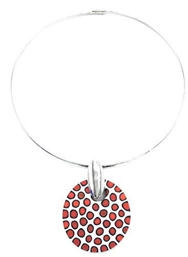 Halskette Donna-Murrine-Millefiori-in-Vetro-di-Murano-Made-in-Italy