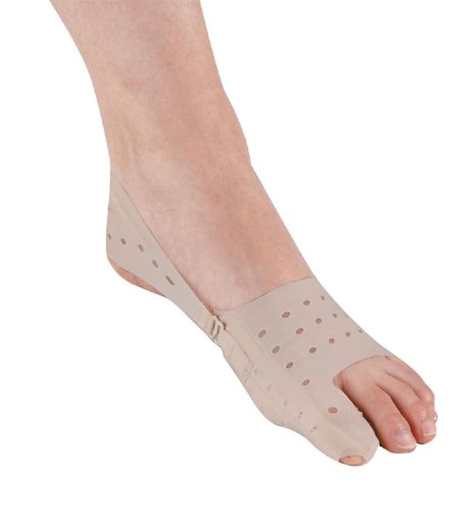 小康腹不条理セルヴァン 薄型母趾サポーター ベージュ 24-25.5cm