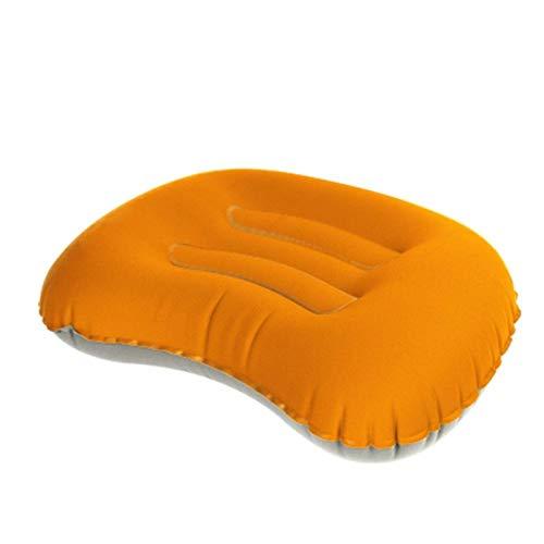 JONJUMP - Cuscino da viaggio ultraleggero, portatile, gonfiabile, cuscino gonfiabile per tenda da viaggio in morbido TPU cuscino