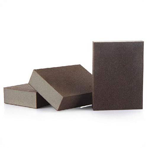 JYT GROUP 3 piezas esponja limpia cepillo, nano esponjas de esmeril, cepillo de esponja para quitar la limpieza del óxido suministros de cocina de baño descalcificación Clean Rub Pot