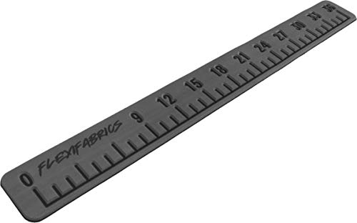 """FlexiFabrics Marine Foam Fish Ruler 