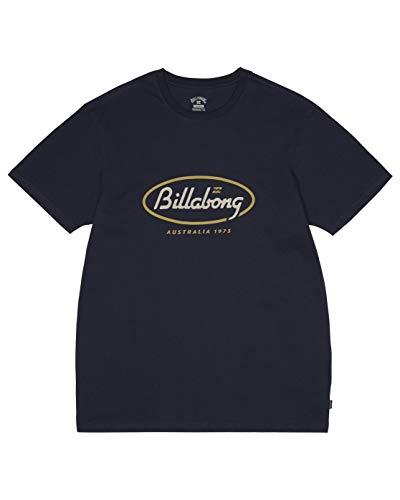 BILLABONG Herren T-Shirt State Beach Tee SS, Navy, M, S1SS03