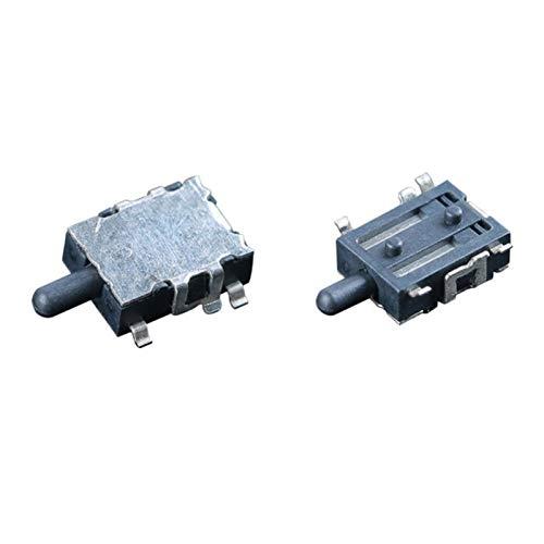 wysjlxcy Micro Interruptor 10pcs Mini Interruptor Deslizante Restablecer Micro Toggle Switch Interruptor en Miniatura Normalmente Lado Cerrado Presione K1 12V