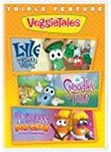VeggieTales Triple Feature: Lyle the Kindly Viking/A Snoodles Tale/Princess and the Popstar - DVD