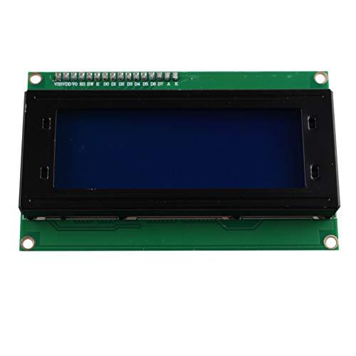 HALJIA IIC/I2C/TWI Seriell 2004 20x4 Zeichen LCD Modul Display LCD 2004 Modul Shield Blue Blacklight kompatibel mit Arduino UNO MEGA R3