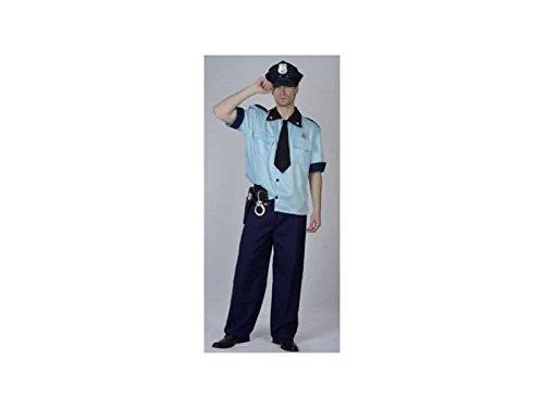 JUGUETILANDIA Disfraz Policia HombreTalla XL