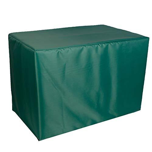 QIAOH Telo Copri Tavolo per Esterno Rettangolare 350x260x90cm, Copertura Mobili Giardino Impermeabile Telo Protettivo, Giardino Impermeabile Telo Protettivo per Tavolo