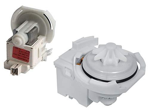 Pompe de vidange Lave-vaisselle 481236018508 WHIRLPOOL