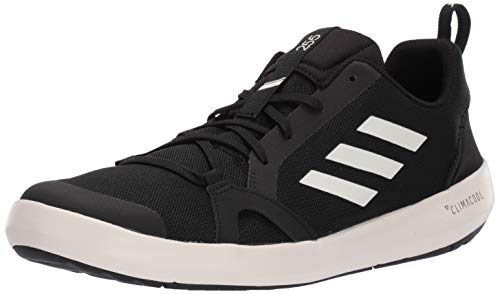 adidas Men's Terrex CC Boat Water Shoe, Black/chalk White/Black, 11 M US