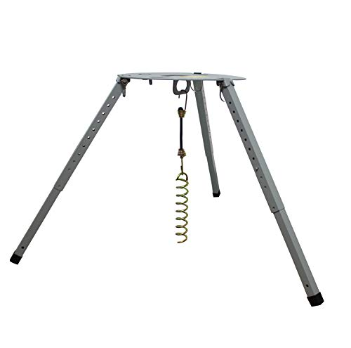 TR-1518 Satellite Tripod Mount,Compatible with Carryout(GM-1518, GM-1599, GM-MP1), Pathway and Playmaker RV Satellite Antennas Instead of Winegard,and Adjustable Height (14.5 inches-22 inches)