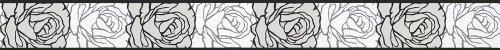 A.S. Création Frise murale autocollant Stick Ups grisaille noir blanc 5,00 m x 0,05 m 905024