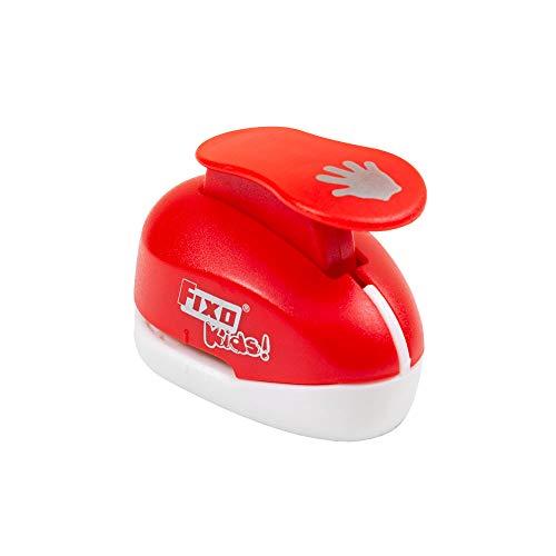 Fixo Kids 60951. Perforadora Especial Goma EVA con Forma de Mano. 1,6cm. Tamaño Pequeño, Rojo
