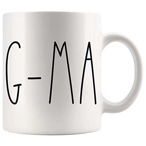 Lawenp Taza de G-Ma | Taza de café estilo Mrs. Rae Dunn...
