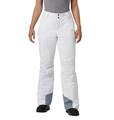Columbia Bugaboo OH Pantalón de esquí, Mujer, White, XS R