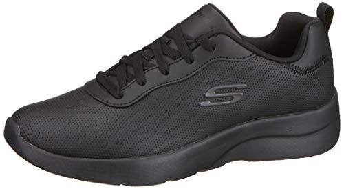 Skechers Mujer Dynamight EV Zapatillas Deportivas Casuales Negro EUR 36,5