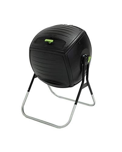 LIFETIME 60076 - Compostador doméstico ultrarresistente 75x81x113 cm 189 litros