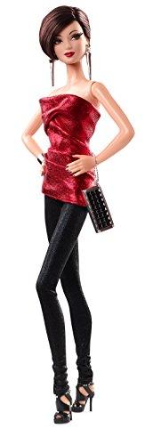Barbie–cjf51–The Look–Rot und Schwarz