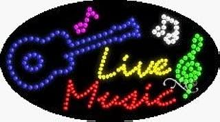 live music led sign