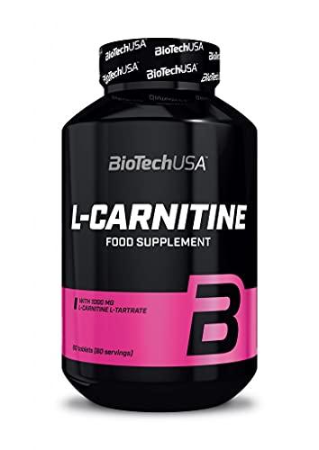 L-Carnitina 1000 mg 60 tabs Biotech USA