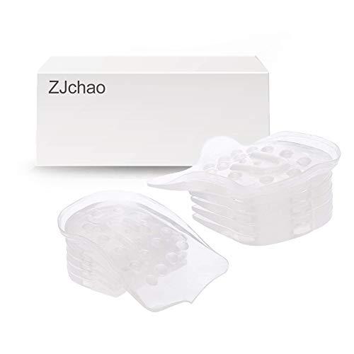Plantillas de gel de sílice con talón de gel de 5 capas para los hombres y mujeres altura ajustable ,1 par