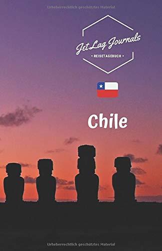 JetLagJournals • Reisetagebuch Chile: Erinnerungsbuch zum Ausfüllen | Reisetagebuch zum Selberschreiben | Ideal als Abschiedsgeschenk