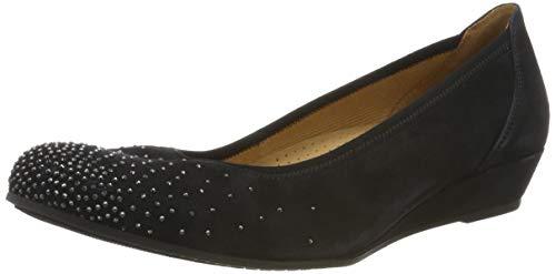 Gabor Shoes Damen Comfort Sport Geschlossene Ballerinas, Blau (Pazifik 26), 40 EU
