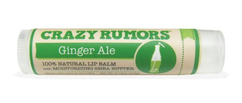 Crazy Rumors Soda Pop Lip Balm Ginger Ale, Ginger Ale/ 0.15 Oz by Crazy Rumours