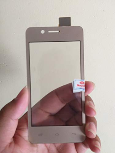 MrSpares Touch Screen digitizer Panel Replacement Part for Micromax Bharat 2 Q402 : Gold