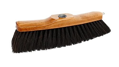 Lantelme sala de pelo de caballo escoba de madera sala de mezcla de pelo de caballo sala de sala de escoba 28cm conexión de hilo de metal 6832