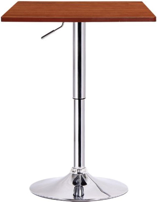 Boraam 99630 Luta Adjustable Pub Table, Walnut