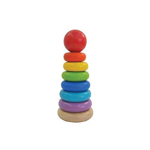 PLAN TOYS Plantoys 39512400 - Farbenpyramide
