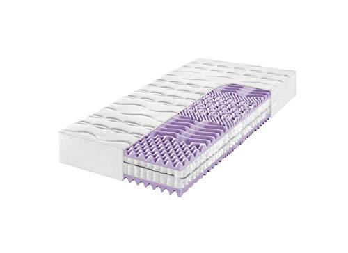 Frankenstolz Klima Matratze perfekt für Schwitzer - Kaltschaum oder Taschenfederkern (Taschenfeder - H3, 90 x 200 cm)