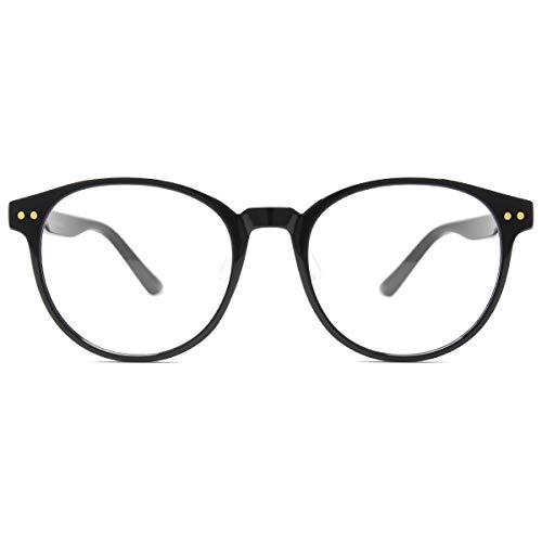 Blue Light Blocking Glasses Women Men Computer Glasses TR90 Round Eyewear Frame