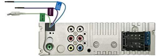 JVC KD-X560BT USB-Autoradio mit Bluetooth und 3 TFT-Farbdisplay (Rückfahrkameraeingang, AUX-Eingang, MP3, WMA, FLAC, DSP, 4 x 45 Watt)