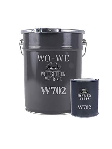 Résine époxy W702 peinture sol revêtement garage industriel beton Gris anthracite - 2,5Kg