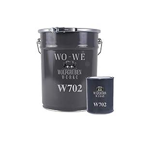 Pintura Suelos de Hormigón Garajes Revestimiento Resina Epoxi W702 2 K Gris guijarro – 2,5Kg