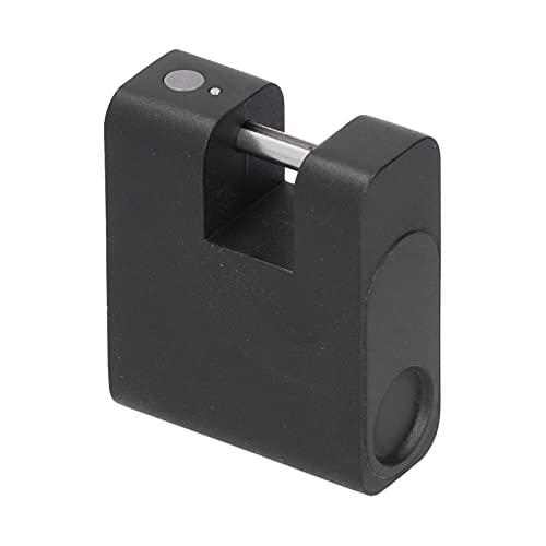 Lucchetto per impronte digitali, Sensore di impronte digitali touch capacitivo Ricarica USB Lucchetto intelligente 20 Memoria di impronte digitali 150Mah 3.7V lega di zinco Blocco biometrico
