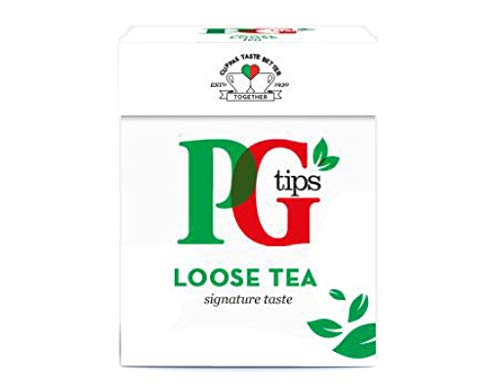 PG Tips Loose Tea 250g - loser schwarzer Tee