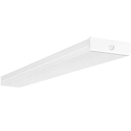 4FT LED Wraparound Light 40W 4 Foot LED Shop Lights for Garage, [2-lamp 32W...